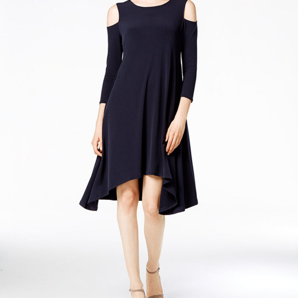 Cold Shoulder dress from Macy's