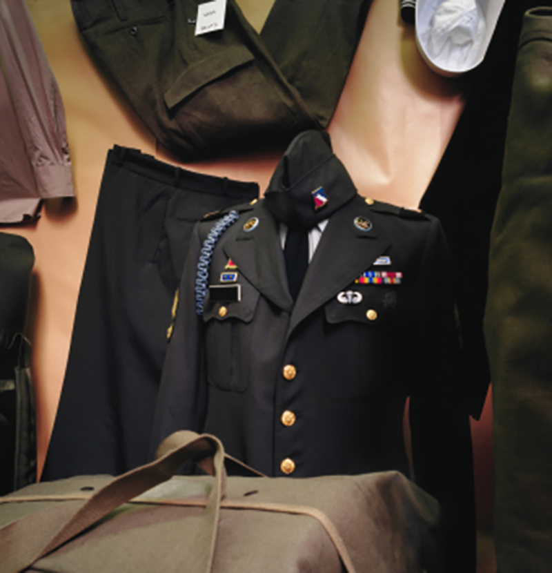 Military Uniform to be preserved at Omaha Lace Cleaners