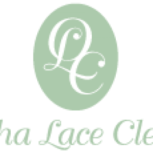 Omaha Lace Logo in Light Green