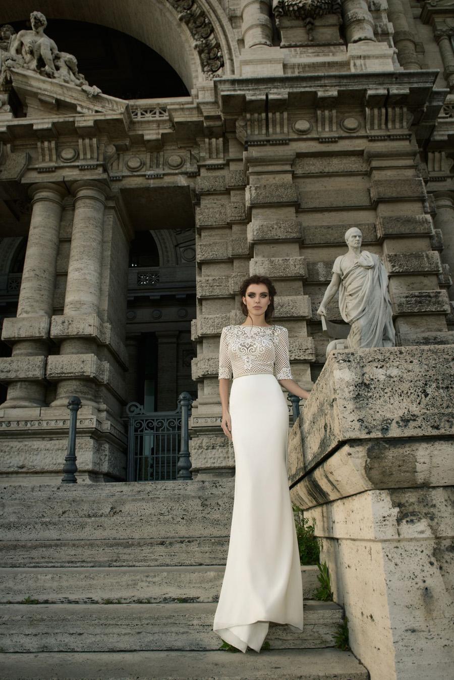 Julie Vino Wedding Gown - Pricilla