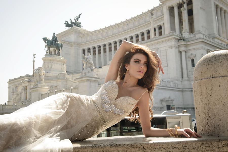 Julie Vino Wedding Gown - Vita