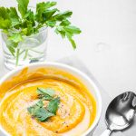 Warm and Spicy Butternut Squash Soup