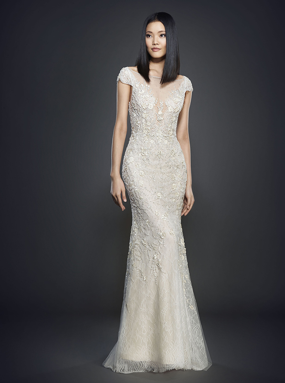 Bridal Gown Spotlight - Lazaro style 3702