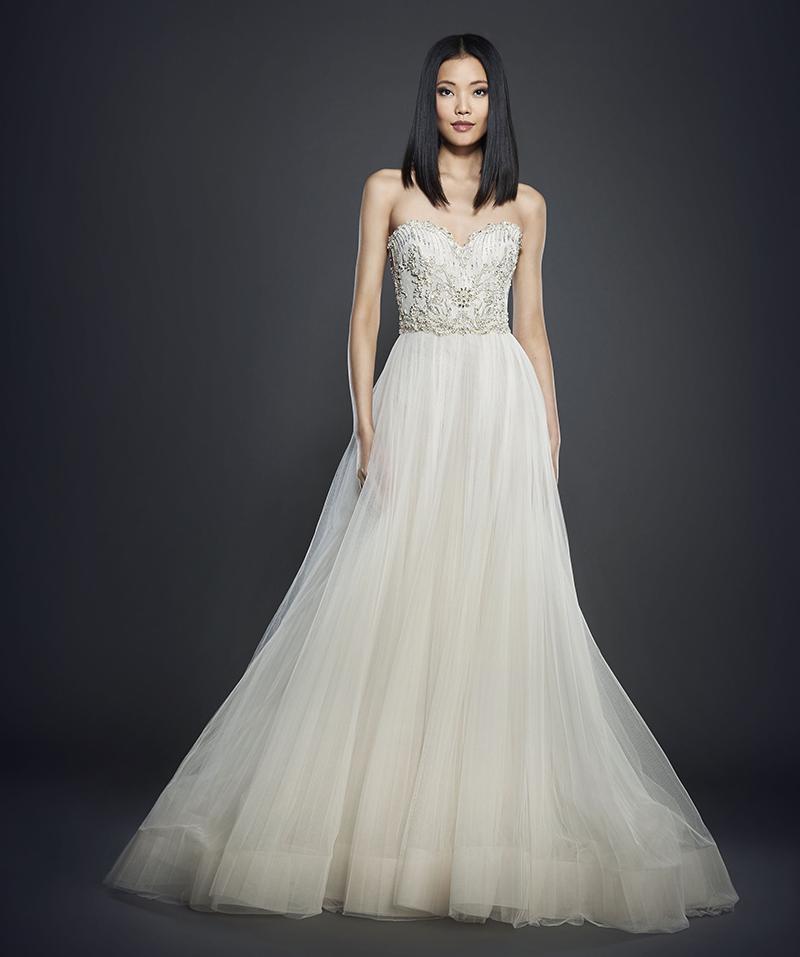 Bridal Gown Spotlight - Lazaro style 3706