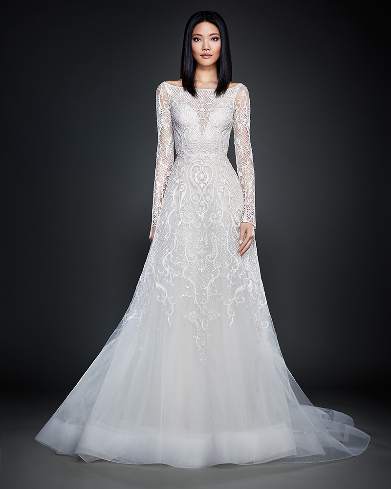 Bridal Gown Spotlight - Lazaro style 3709