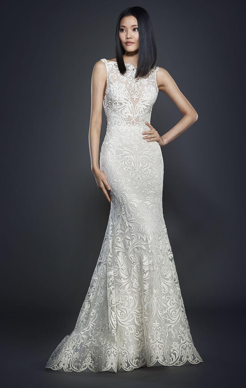 Bridal Gown Spotlight - Lazaro style 3710