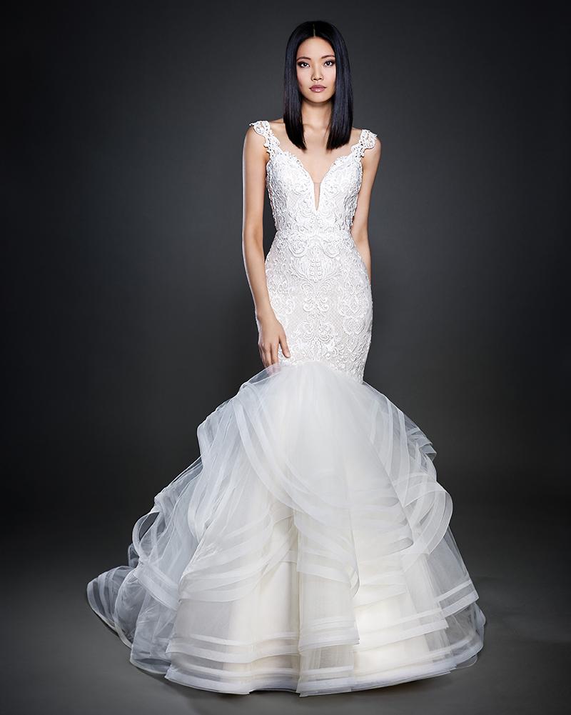 Bridal Gown Spotlight - Lazaro style 3713