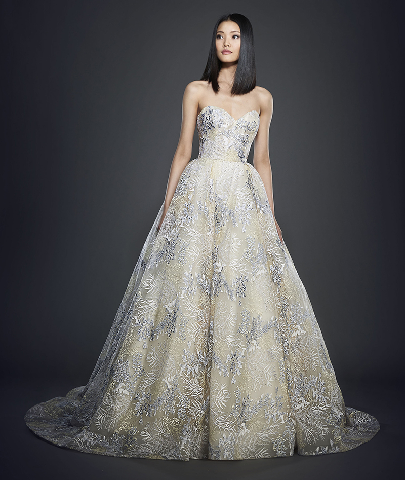 Bridal Gown Spotlight - Lazaro style 3716
