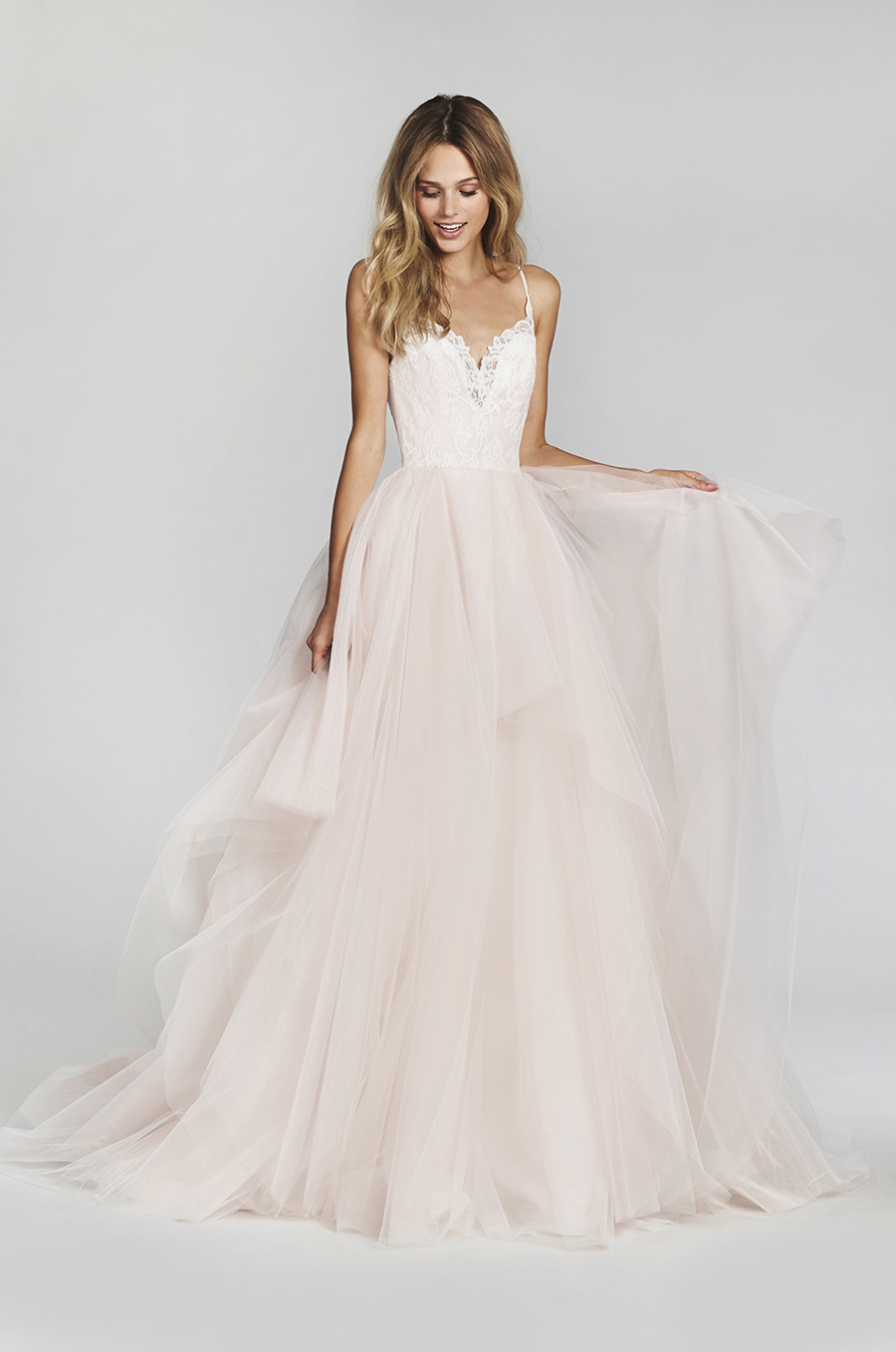 Blush by Hayley Paige Spring 2017 Bridal Gown Collection style 1708 Front