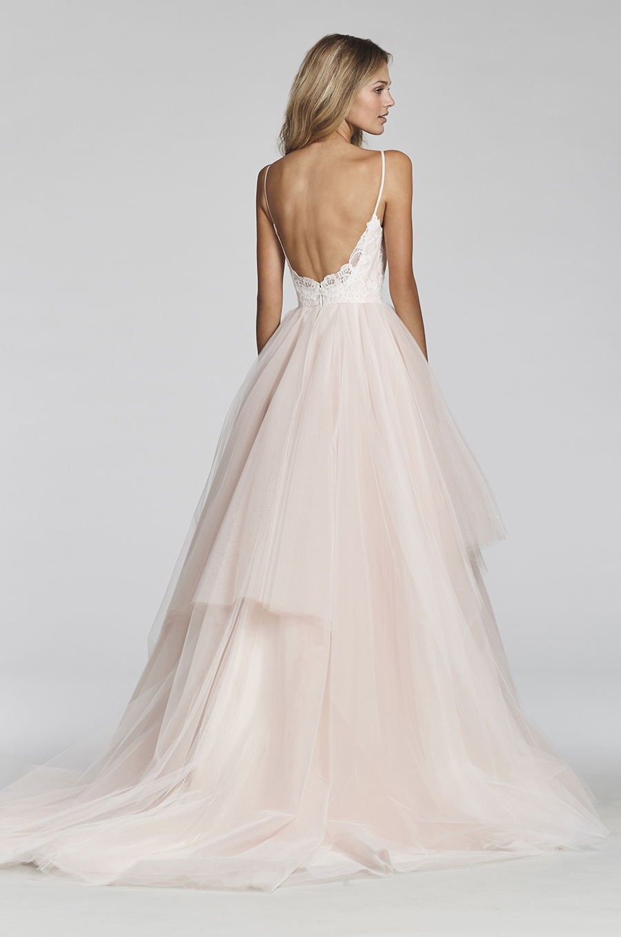 Blush by Hayley Paige Spring 2017 Bridal Gown Collection style 1708 Back