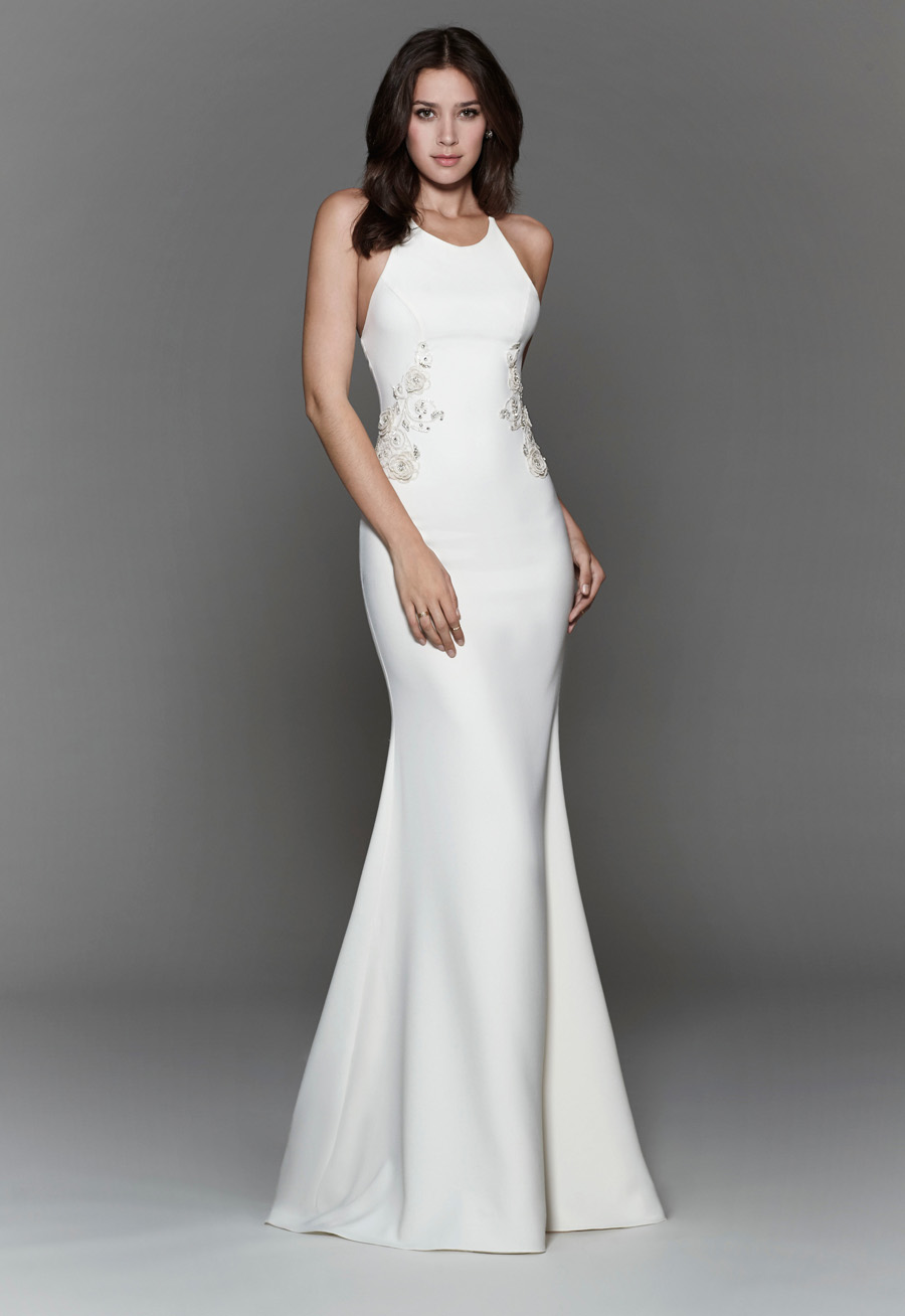 Tara Keely Spring 2017 Bridal Gown Collection Style 2705 Front