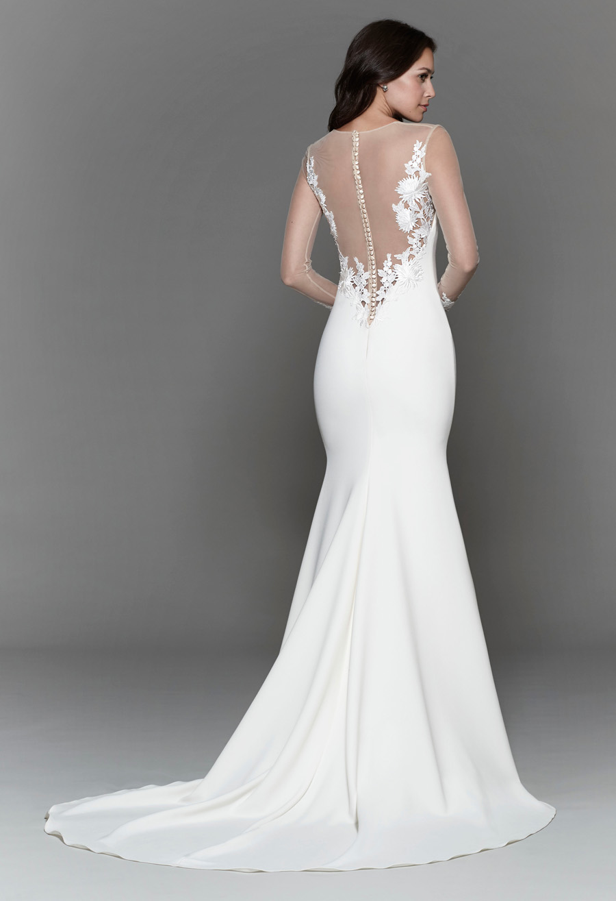 Tara Keely Spring 2017 Bridal Gown Collection Style 2712 Back