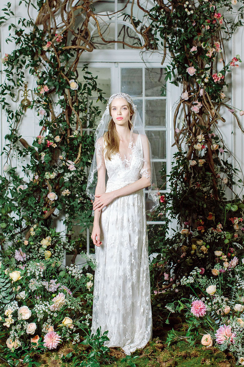 The Four Seasons Collection by Claire Pettibone Persephone Gown photo by Kayla Barker