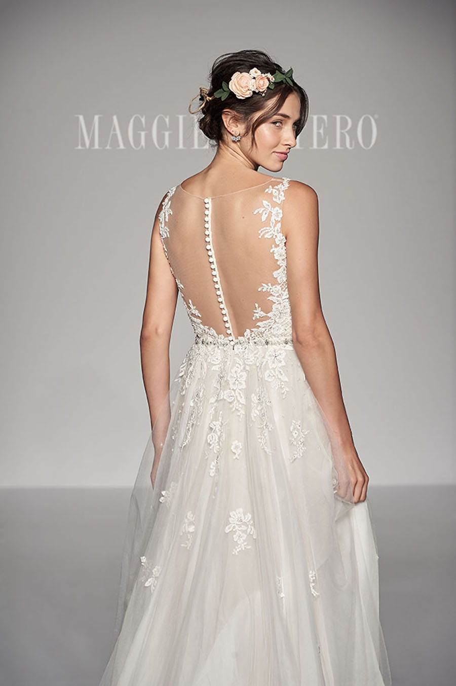 Maggie Sottero Spring 2017 Collection - Avery back