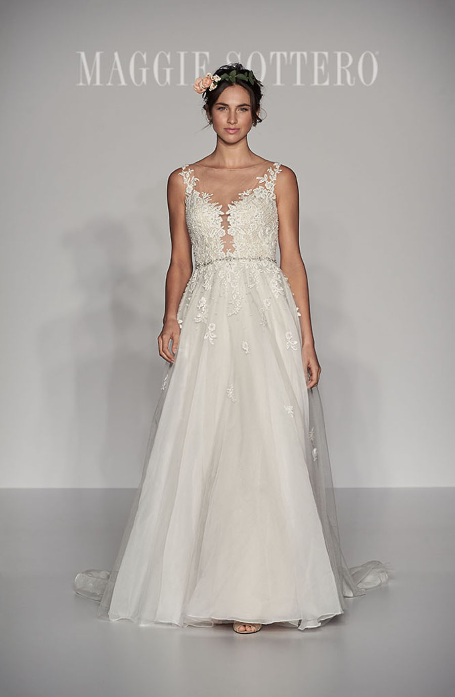 Maggie Sottero Spring 2017 Collection - Avery Front