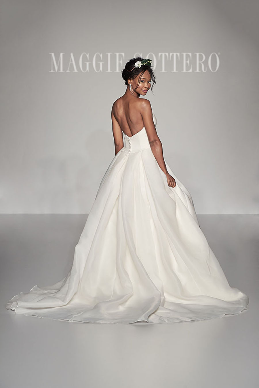 Maggie Sottero Spring 2017 Collection Bianca Back