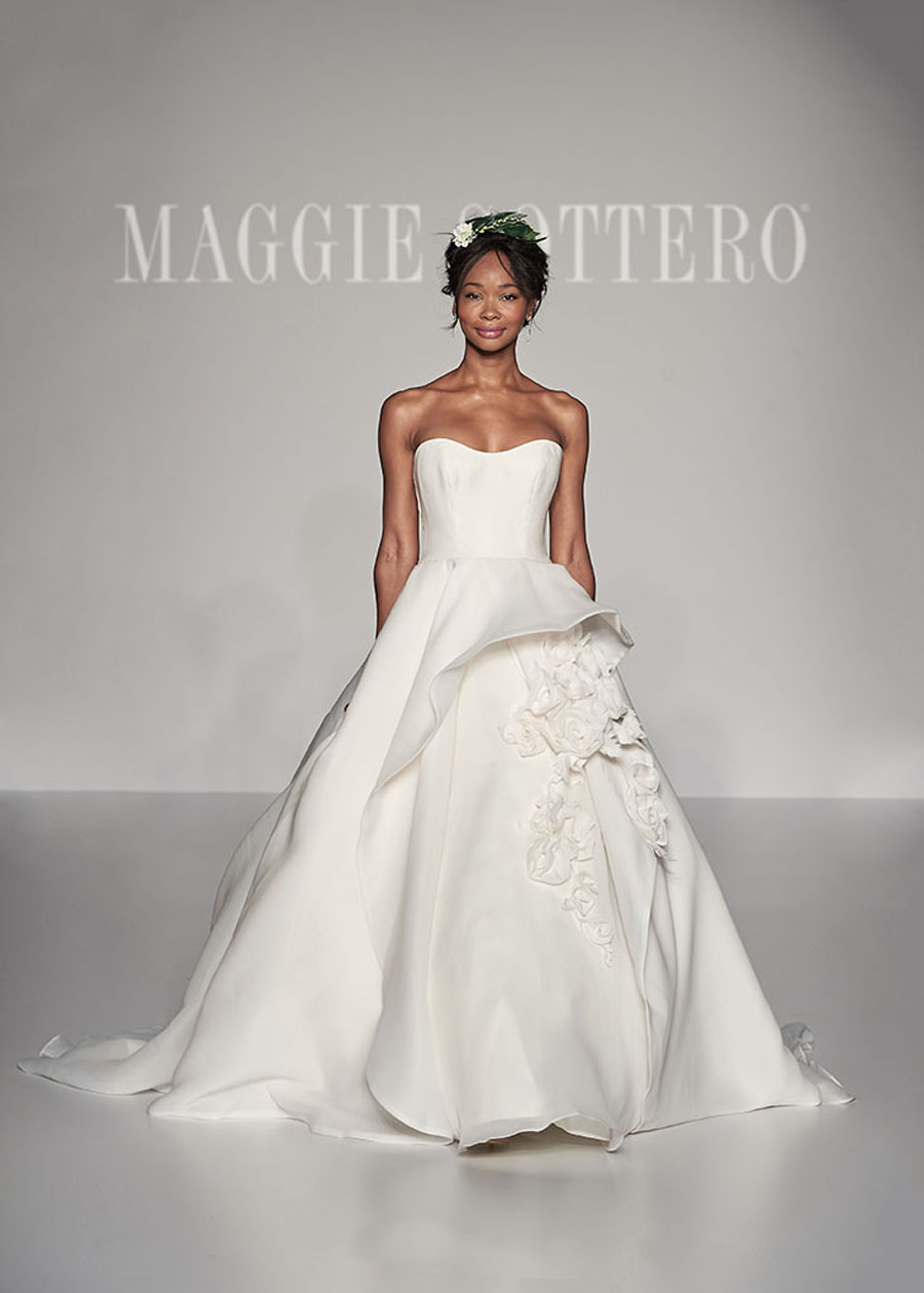Maggie Sottero Spring 2017 Collection - Bianca Front