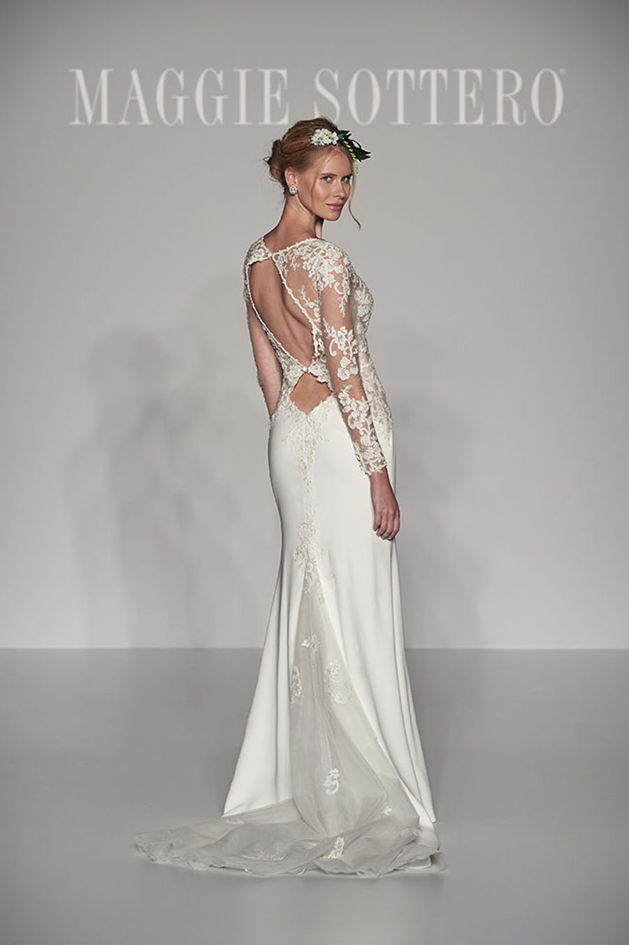 Maggie Sottero Spring 2017 Collection - Blanch Back