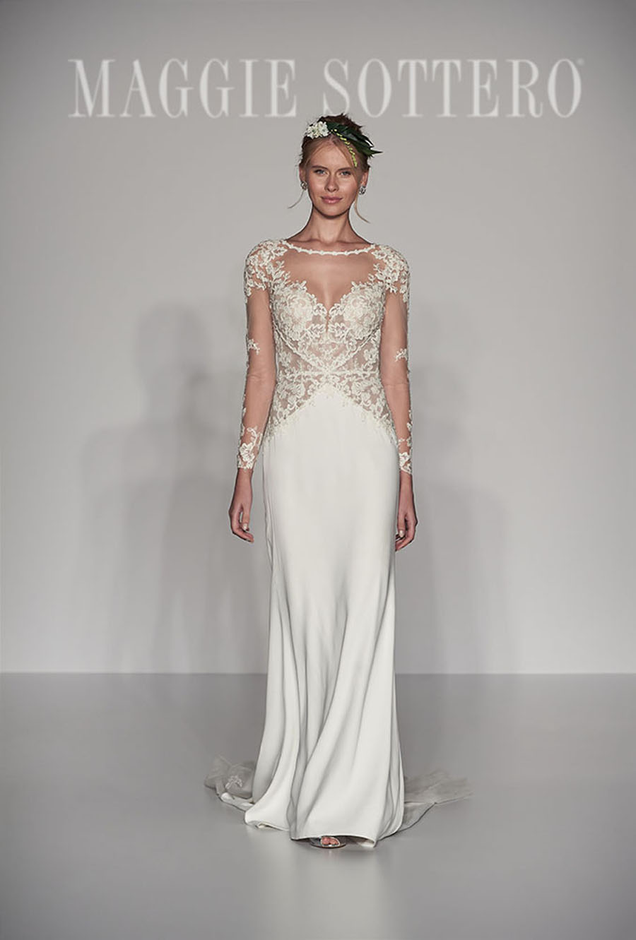 Maggie Sottero Spring 2017 Collection - Blanch Front