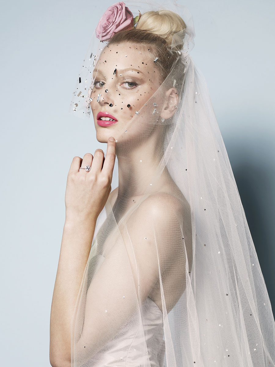 BLUSHER VEIL BY WATTERS