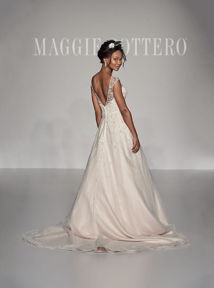 Maggie Sottero Spring 2017 Collection - Freesia Back