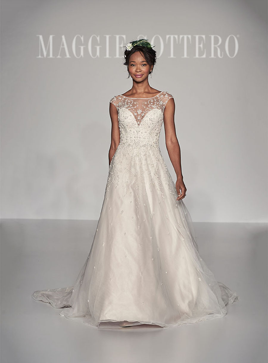 Maggie Sottero Spring 2017 Collection-Fressia Front