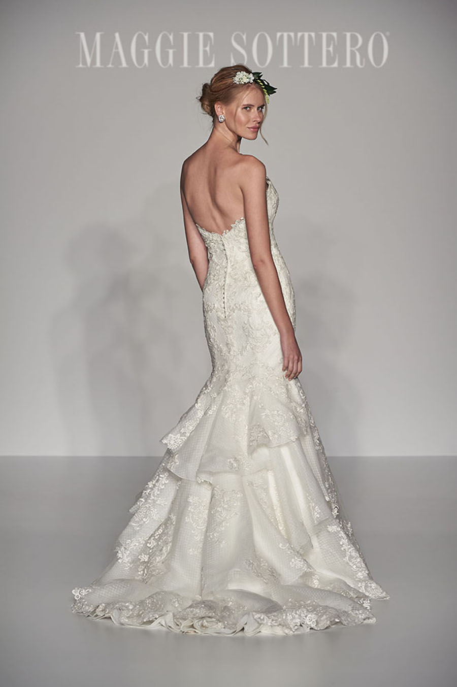 Maggie Sottero Spring 2017 Collection - Goldie Back