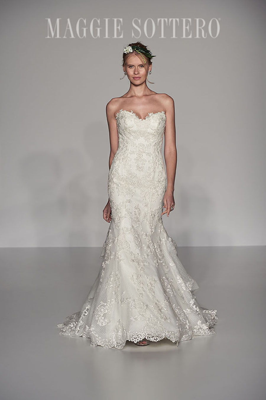 Maggie Sottero Spring 2017 Collection - goldie front