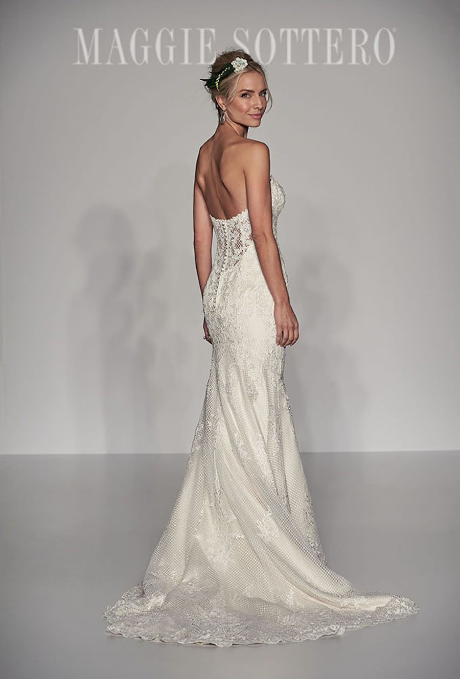 Maggie Sottero Spring 2017 Collection - MCKENNA back