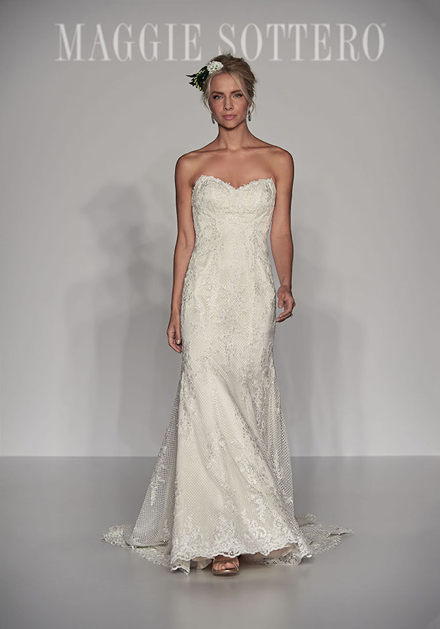 Maggie Sottero Spring 2017 Collection - McKenna front
