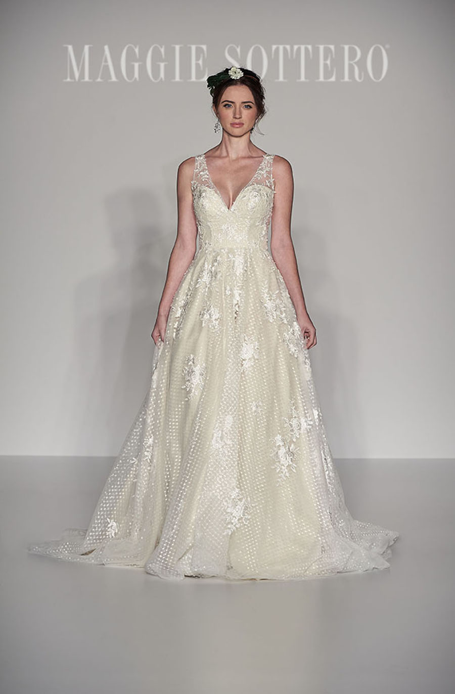 Maggie Sottero Spring 2017 Collection - Meryl Front