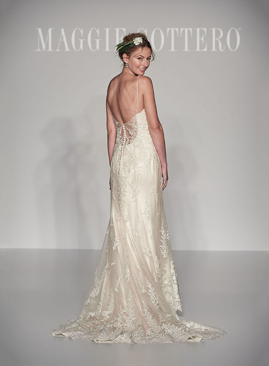 Maggie Sottero Spring 2017 Collection - Nola Back