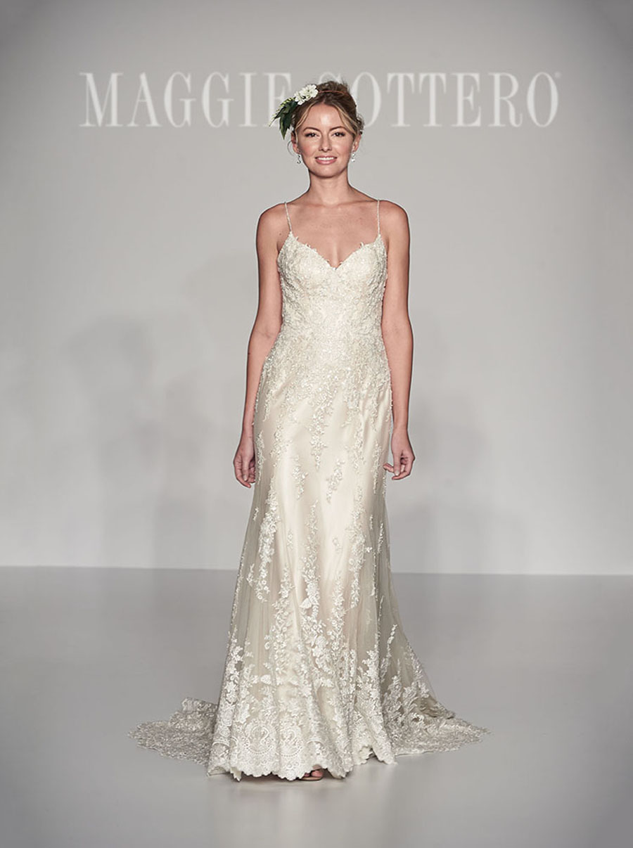 Maggie Sottero Spring 2017 Collection - Nola front