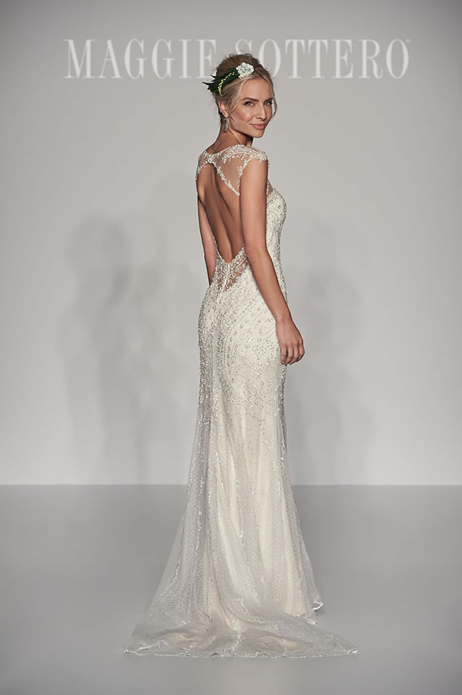 Maggie Sottero Spring 2017 Collection - Petra Back
