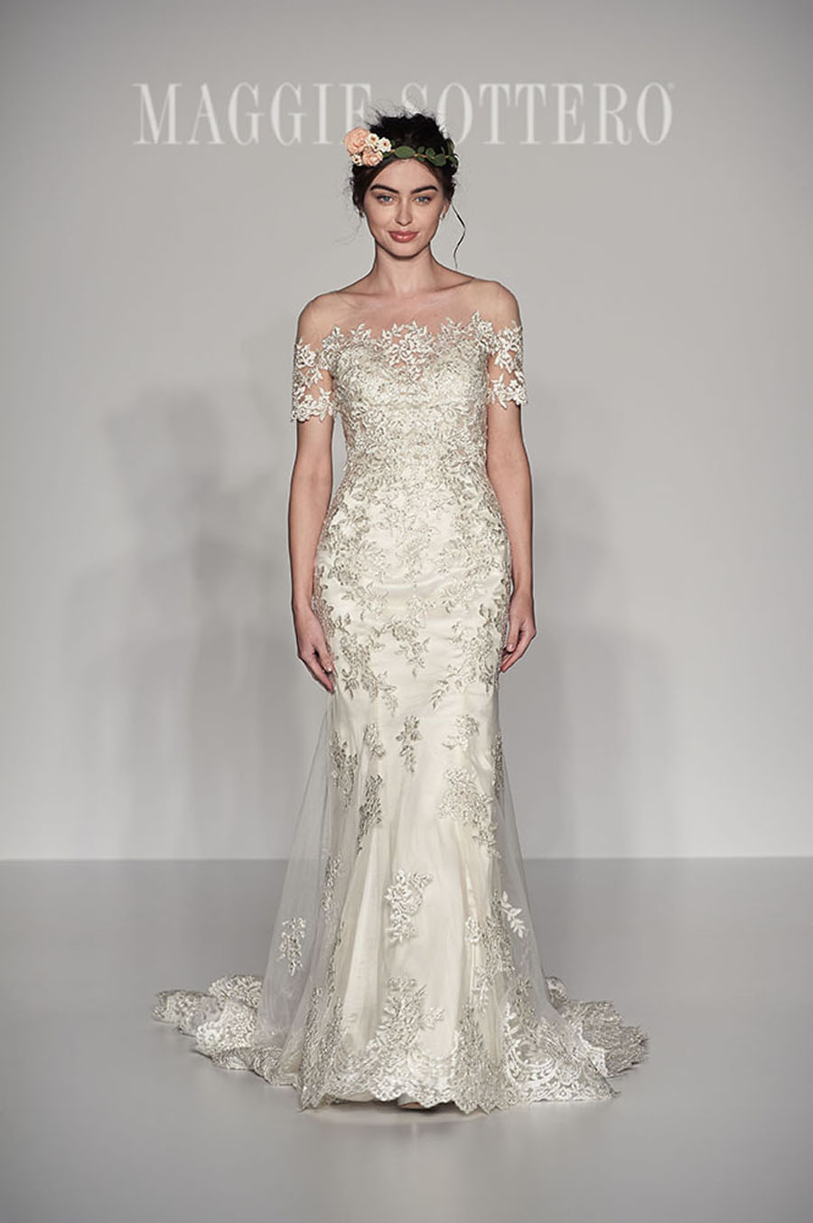 Maggie Sottero Spring 2017 Collection - Reynold front