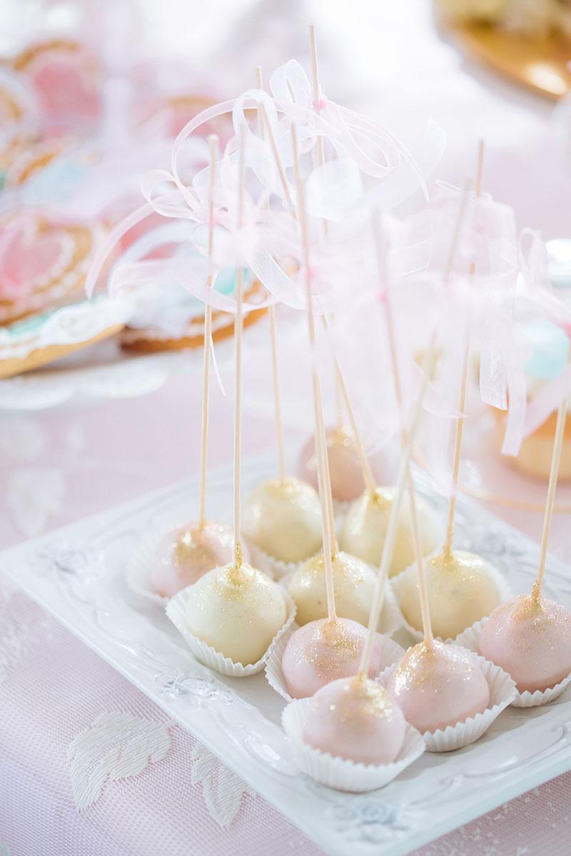 Pretty Pastel Wedding Inspiration - pastel sweet cake pops