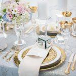 Elegant Blue, Pink and Gold Wedding Inspiration -1
