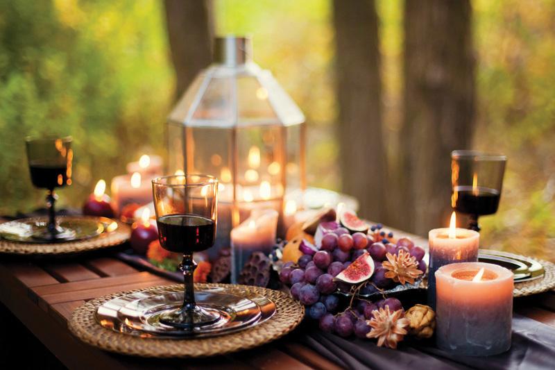 Fall Wedding Inspiration full table