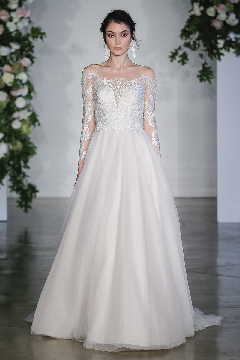 Morilee gown with Long Sleeves
