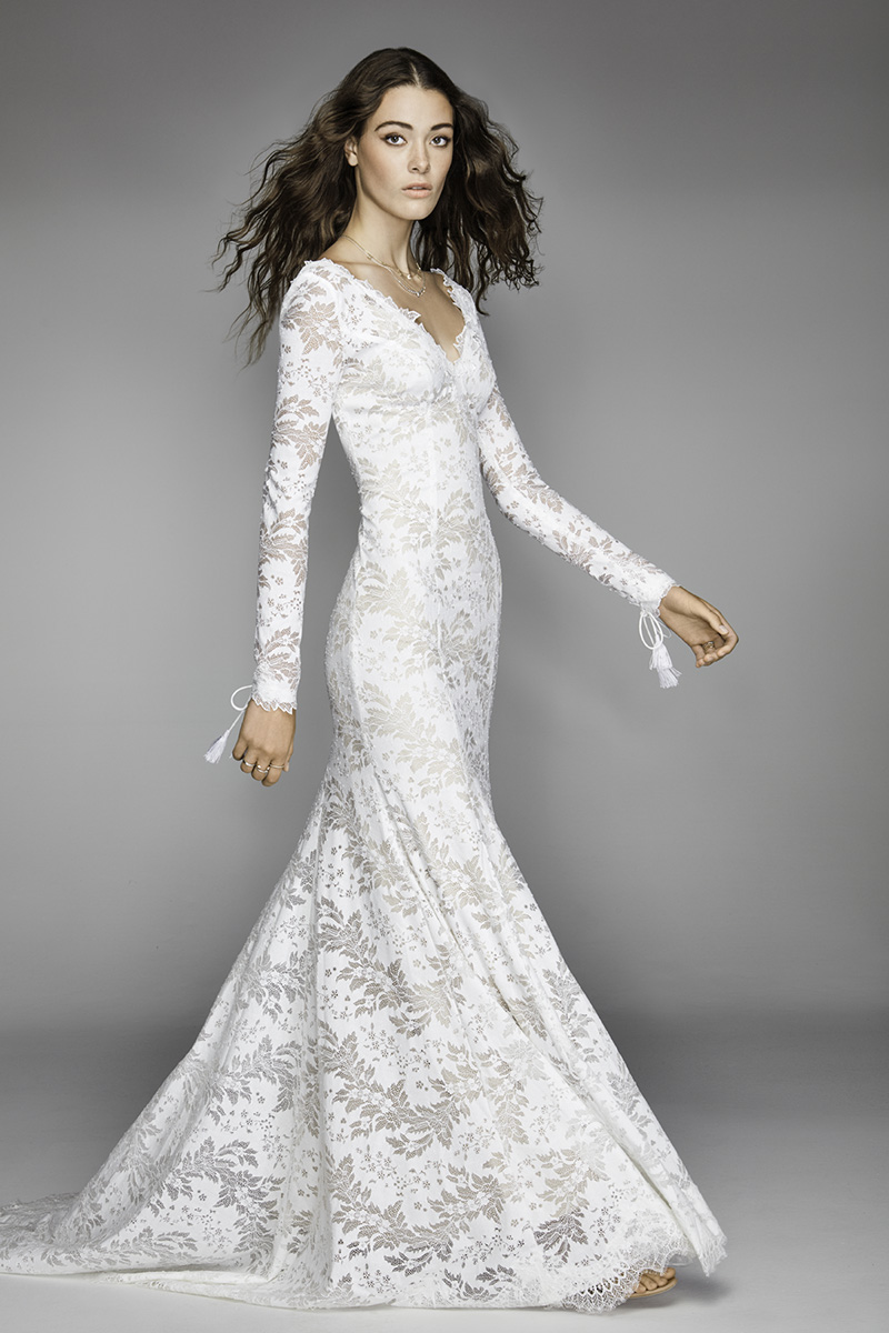 Willowby Wedding Gown with Long Sleeves