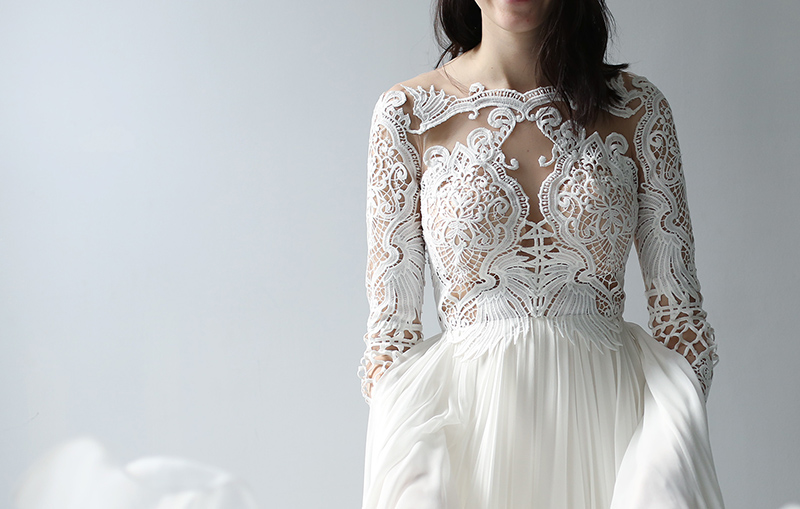 Bridal Fashion: 15 Wedding Gowns With Long Sleeves