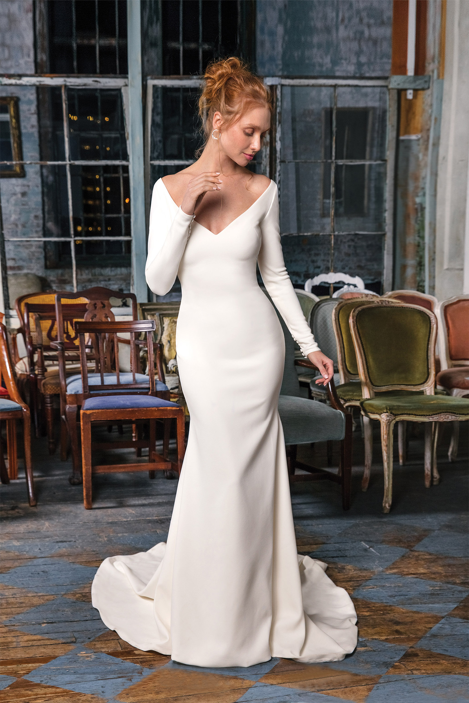 Royal wedding gown inspiration by Justin Alexander