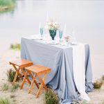 Blue Lakeside Wedding Inspiration