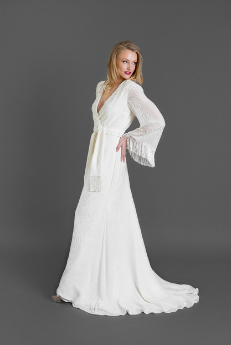 70's Inspired Bridal Gowns by Catherine Kowalski