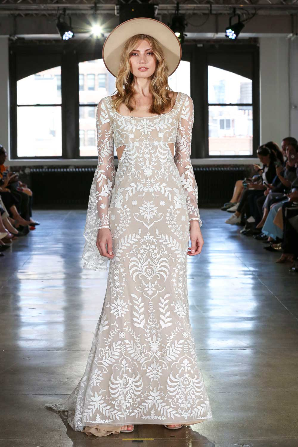 70's Inspired Bridal Gowns by Willowby by Watters