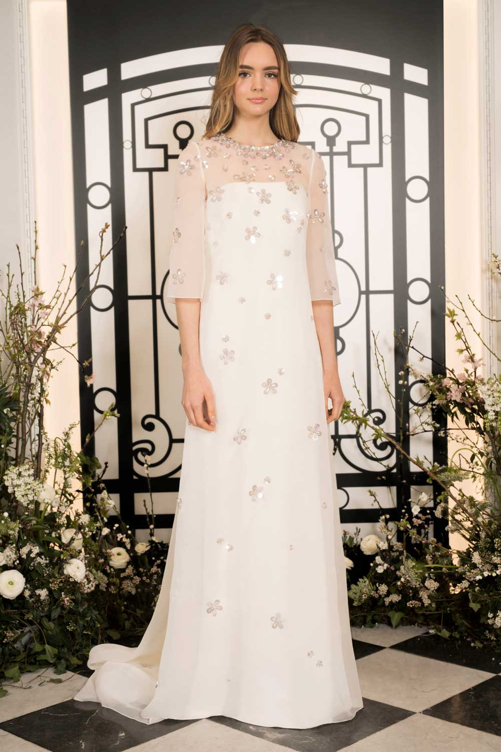 70's Inspired Bridal Gowns by Kenny Packham
