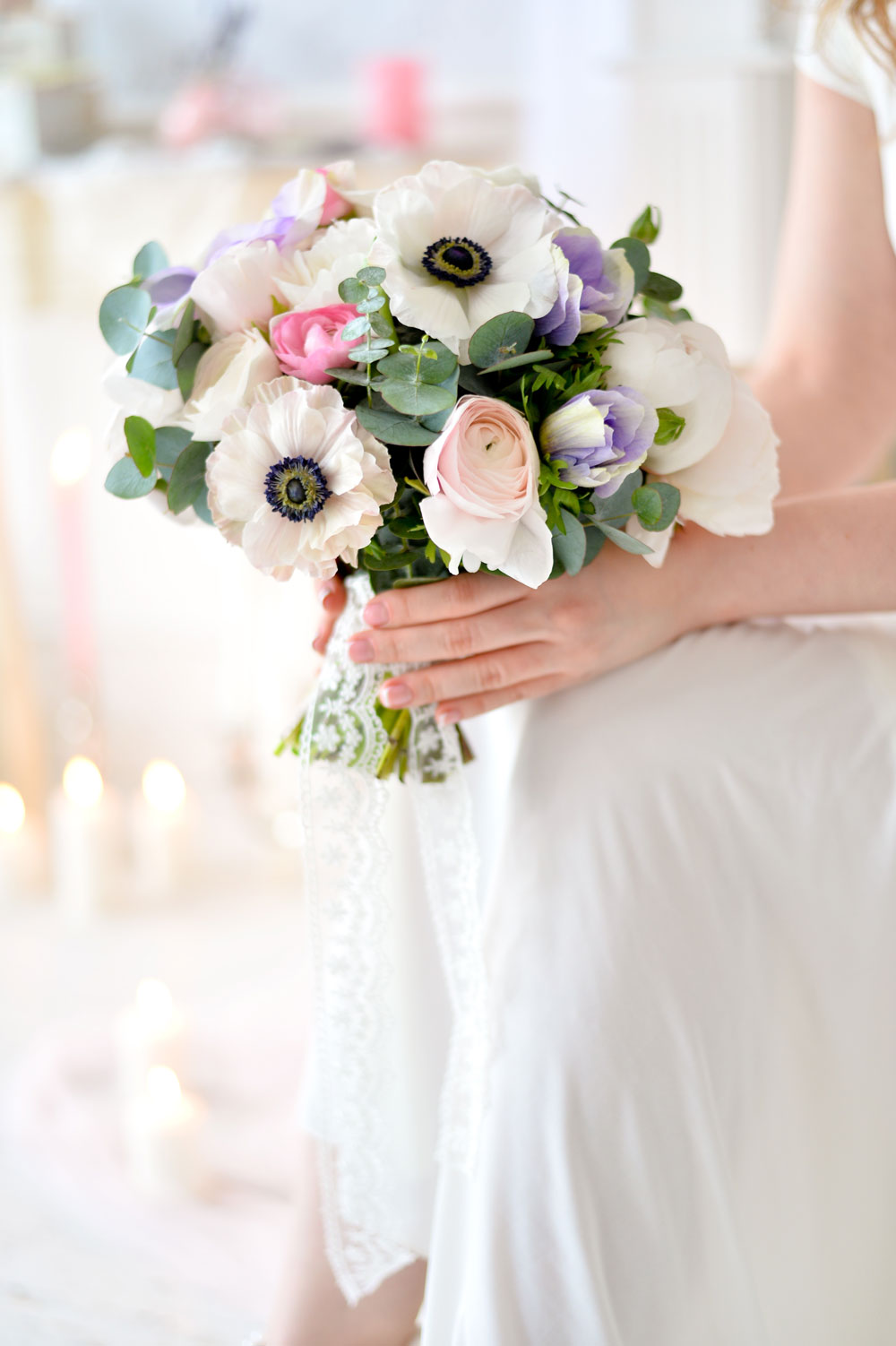 2 bouquet with Anemones